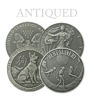 Antiqued Silver