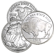 2 oz Silver Rounds