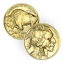 1 oz American Gold Buffalo Coin BU (Random Year)