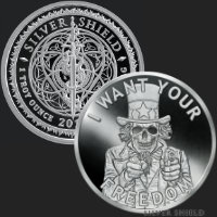 1 oz Uncle Fear MiniMintage Proof Silver Round