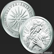 1/4 oz Peace Within Silver Round .999 Fine
