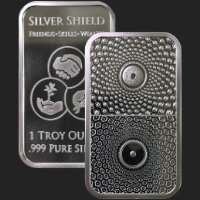 1 oz Duality Silver Bar BU
