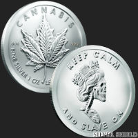 1 oz Royal Highness BU Silver Round .999 Fine