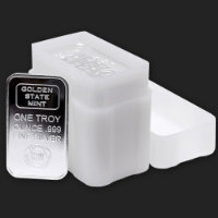 Tubes for 1 oz Silver Bars (Rectangles)