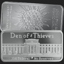 10 oz Den of Thieves Silver Bar