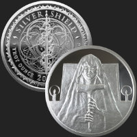 1 oz Death MiniMintage Proof Silver Round