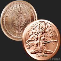 1 oz Trivium Girls Copper Round .999 Fine