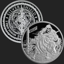 2 oz Rate Reaper MiniMintage Proof Silver Round .999 Fine
