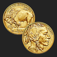 2020 1 oz American Gold Buffalo Coin BU