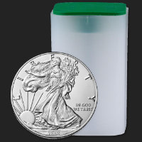 Tubes for 1 oz American Silver Eagle Coins