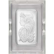 10 oz PAMP Suisse Platinum Bar (in Assay Card)