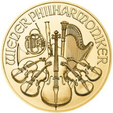 2020 1 oz Austrian Gold Philharmonic