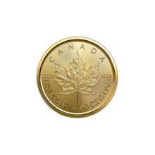 2020 1/10 oz Canadian Gold Maple Leaf