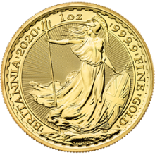 2020 1 oz Great Britain Gold Britannia