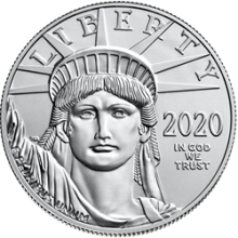 2020 1 oz American Platinum Eagle Coin BU