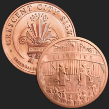 Election Copper bullion round