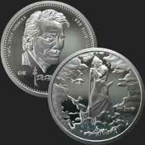 2 oz Frazetta Death Dealer Silver Round