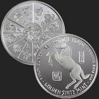 Year of the Horse 1 oz Silver Coin