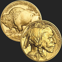 2009 Gold Buffalo BU 1 oz Coin .9999 Fine