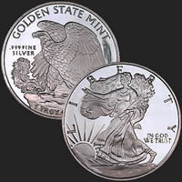 Walking Liberty 1 oz Silver Coin