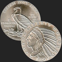 Indian 5 oz Silver Coin