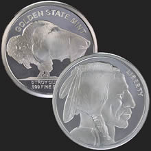 Buffalo 5 oz Silver Coin