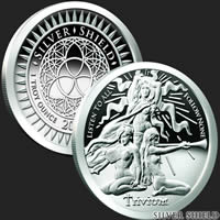 Trivium Girls Proof 1 oz Silver Coin