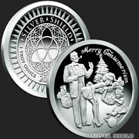1 oz Merry Consumerism Proof Silver Round .999 Fine