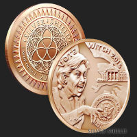 1 oz Vote Witch MiniMintage BU Copper Round .999 Fine