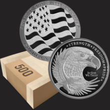 Monster Box 1 oz GSM Silver Eagle Rounds