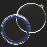 39 mm Air-Tite Ornament Capsule | 1 oz Rounds (blue ring)