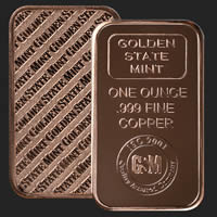 1oz Copper Bar
