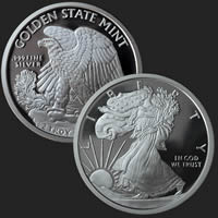 Walking Liberty 2 oz Silver Coin