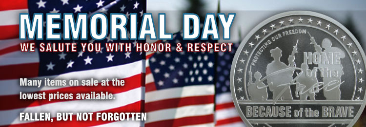 Memorial Day Sale Honor and Respect