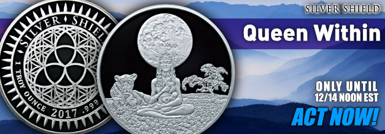 Queen Withing 1 oz silver proof round Silver
