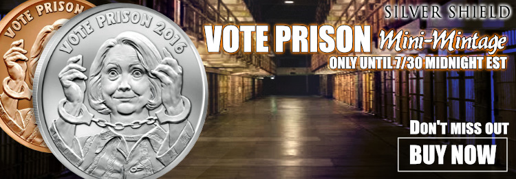 Silver Shield MiniMintage Vote Prison
