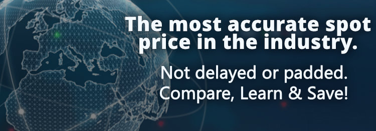 Industry accurate spot prices at GSM
