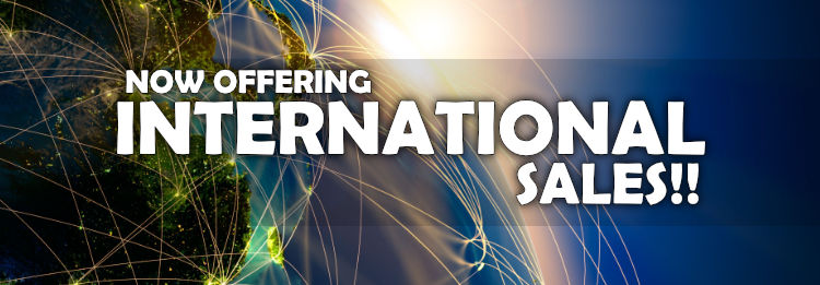 Now offering international shipping at Golden