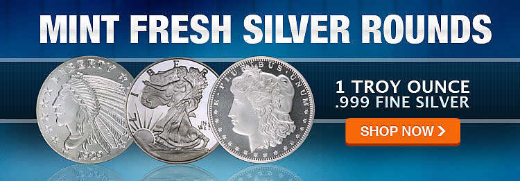 fresh mint silver rounds direct from the source